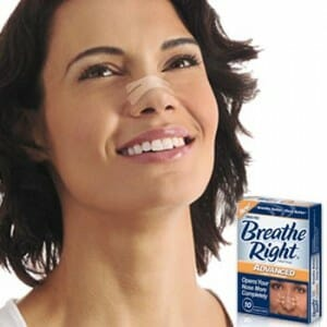 Breath right strips