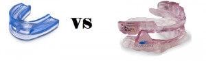 Pro fitted mouthpiece vs otc