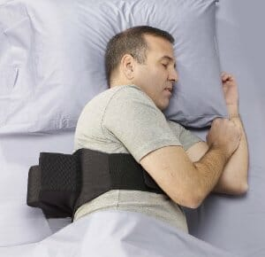 Discovering a new sleeping position may relieve snoring in ...