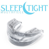 Sleeptight Mouthpiece with logo