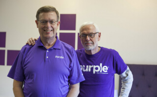 Terry Pearce and Tony Pearce Inventors or Purple