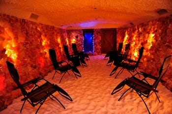 Salt Room used for salt therapy